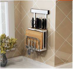 China Save Space Design Wall Mounted Plate Racks For Kitchens Anti - Rust supplier