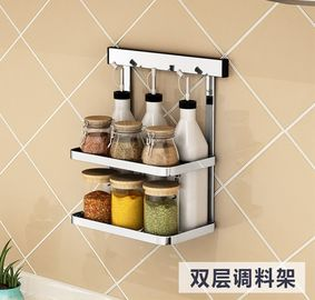 China Multipurpose Kitchen Appliance Rack , Sticking Bathroom Shampoo Shelf supplier