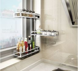 China Multi Functional Stainless Steel Kitchen Shelves Wall Mount Over The Sink Drainer supplier