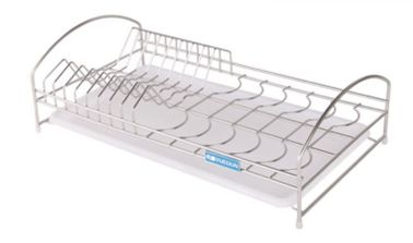 China LS-905 Tray Holder Organizer Kitchen Wire Baskets Silver Color Custom Size supplier