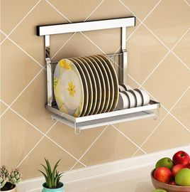China Metal Wire Kitchen Racks And Holders , Single Layer Kitchen Counter Rack supplier