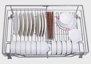 China Base Cabinet Kitchen Pull Out Basket Stainless Steel Material For Kitchen Tool Storage distributor