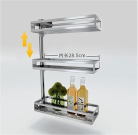 China Fashion Style Countertop Storage Organizer , Adjustable Kitchen Counter Shelf Rack factory