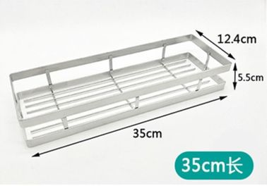 China 35cm Sticking Kitchen Organizer Rack SUS304 Stainless Steel Material distributor