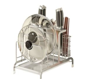 China Cutting Board Holder Stainless Steel Kitchen Rack K304 Stainless Steel distributor