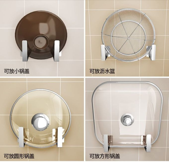 Outstanding Performance Kitchen Wall Rack , Anti Rust Wall Shelves For Dishes