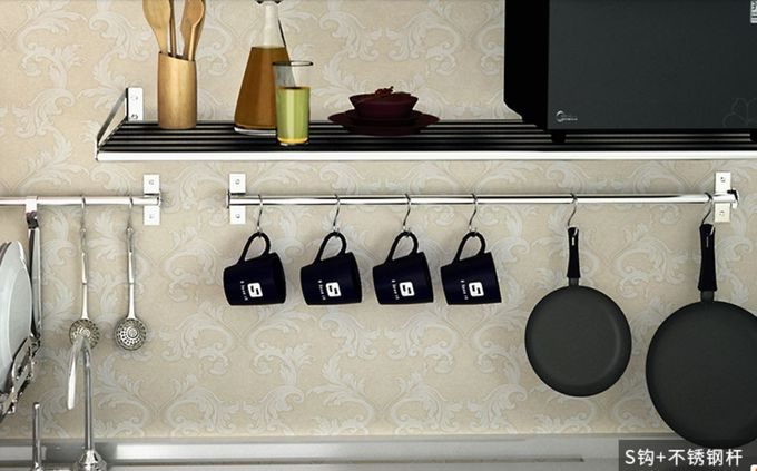 Polished Surface Exquisite S Shaped Hooks For Kitchenware Pots Utensil