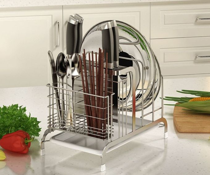 Cutting Board Holder Stainless Steel Kitchen Rack K304 Stainless Steel