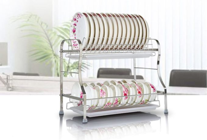 Strong Bearing Kitchen Organiser Rack , No Tools Required Kitchen Knife Organizer